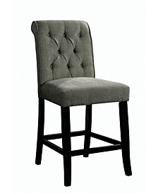 Landon Tufted Upholstered Pub Chair (Set of 2)