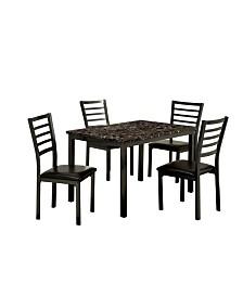 Maxson 5pc Table Set, Quick Ship