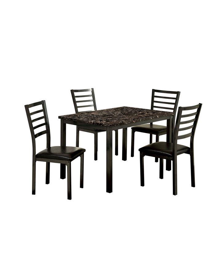 Furniture - Maxson 5pc Table Set, Quick Ship