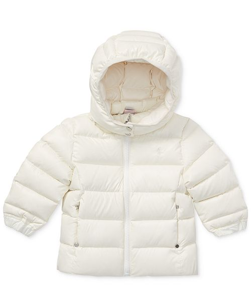 d2d47fbfd Polo Ralph Lauren Baby Girls Quilted Down Jacket   Reviews - Coats ...
