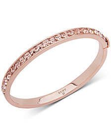 DKNY Square Stone Bangle Bracelet, Created for Macy's
