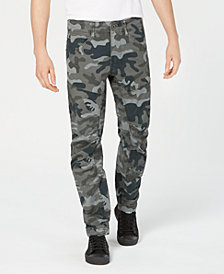 G-Star RAW Men's Tapered Camo Pants, Created for Macy's