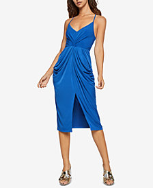 BCBGeneration Draped Pocket Dress