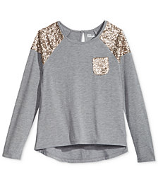 Epic Threads Girls 7-16 Sequin Top