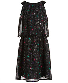 Epic Threads Big Girls Printed Popover Dress, Created for Macy's
