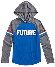 Epic Threads Big Boys Future Graphic Hooded Shirt, Created for Macy's