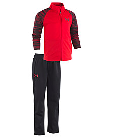 Under Armour Toddler Boys 2-Pc. Voltage Linear Track Jacket & Pants Set