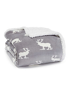 Eddie Bauer Elk Stance Dark Grey Throw