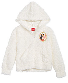 Disney Toddler Girls Elena Faux-Fur Hoodie