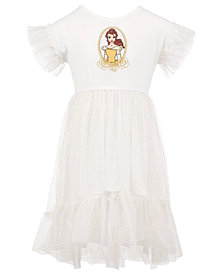 Disney Little Girls Belle Rose Dress