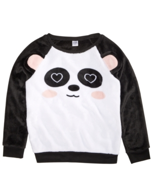 Awake Toddler Girls Panda-Print...