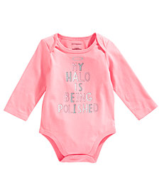 First Impressions Baby Girls Halo Bodysuit, Created for Macy's