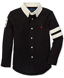 Polo Ralph Lauren Little Boys Performance Oxford Shirt