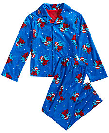 Spider-Man Little & Big Boys 2-Pc.  Pajama Set