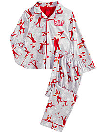 The Elf on the Shelf  Little & Big Boys 2-Pc.  Pajama Set