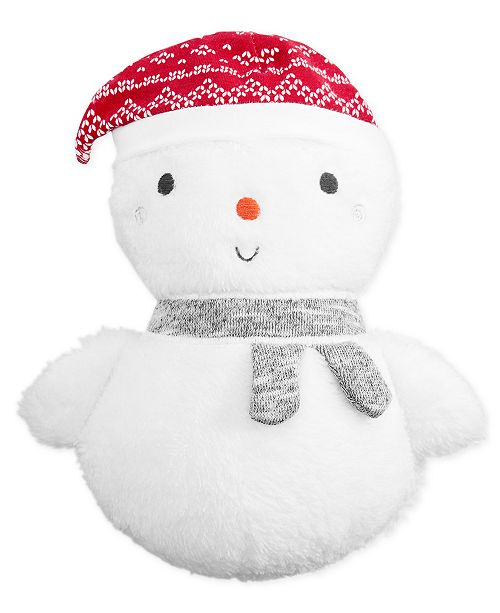 First Impressions Baby Boys Girls Snowman Plush Created For
