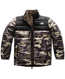 The North Face Mount Chimborazo Reversible Fleece Puffer Jacket, Little Boys & Big Boys