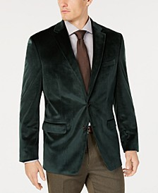 Men's Classic-Fit Velvet Sport Coat