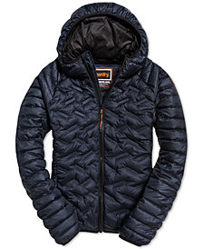 Superdry Men's Radar Mix-Quilt Down Jacket