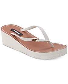 DKNY Mar Wedge Sandals, Created for Macy's