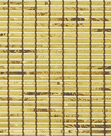 "Cordless Burnout Bamboo Roman Shade, 48""x64"""