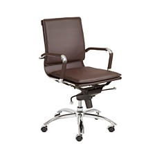 Gunar Low Back Office Chair, Quick Ship