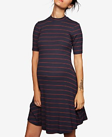 A Pea In The Pod Maternity Ribbed A-Line Dress