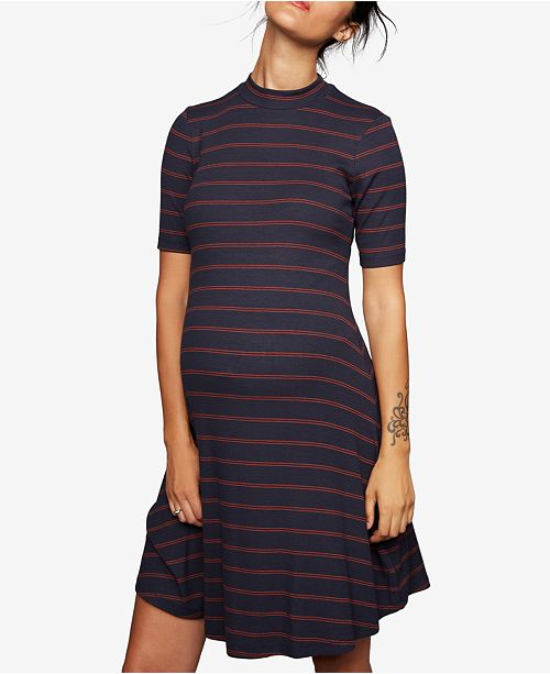 4fccc884ebe A Pea in the Pod Maternity Ribbed A-Line Dress - Maternity - Women ...