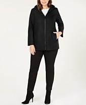 0fa0b1985ac Wool   Wool Blend Plus Size Coats - Macy s