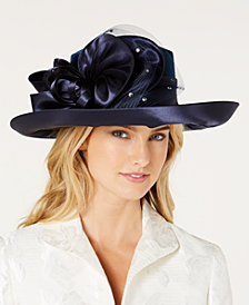 August Hats Lovely Velvet Romantic Hat
