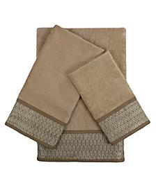 Sherry Kline Norwich 3-piece Embellished Towel Set