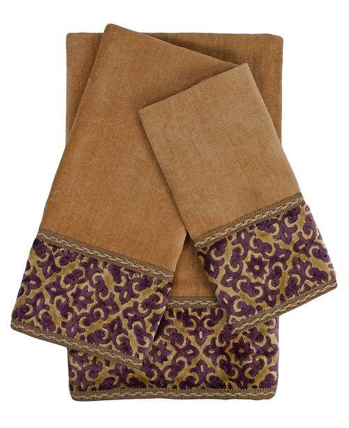 Sherry Kline Elaine Decorative Embellished Towel Set