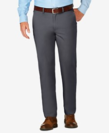 J.M. Haggar Men's Slim-Fit Luxury Comfort Casual Pants