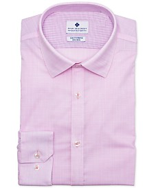 Ryan Seacrest Distinction™ Men's Ultimate Slim-Fit Non-Iron Performance Stretch Rose Dress Shirt, Created for Macy's