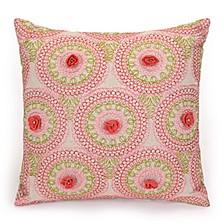"Amrita Medallion 16""x16"" Decorative Pillow"