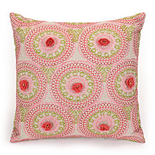 "Jessica Simpson Amrita Medallion 16""x16"" Decorative Pillow"