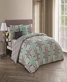 Greer 5 Pc King Comforter Set
