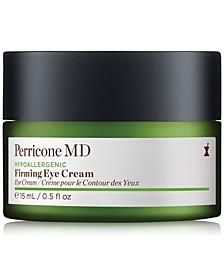 Hypoallergenic Firming Eye Cream, 0.5-oz.