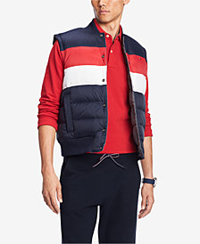 Tommy Hilfiger Men's Russet Quilted Reversible Vest, Created for Macy's