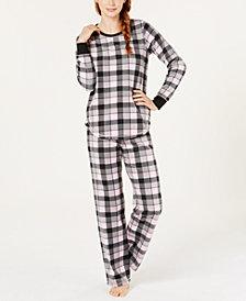 Jenni Printed Top & Pajama Pants Set, Created for Macy's