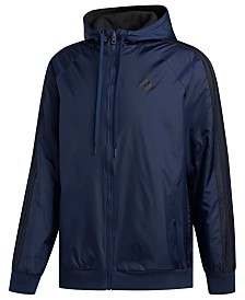 adidas Men's Reversible Hooded Jacket