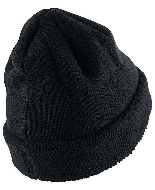 Nike Men s Sportswear Fleece-Cuff Beanie - Hats 9c0c9ae2ae5