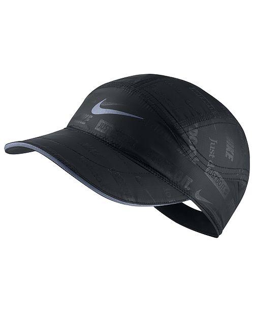 ... Hat  Nike Men s Tailwind Dri-FIT Logo-Print ... 2f267192d85