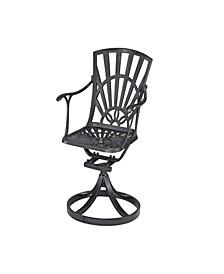 Largo Swivel Chair with Cushion
