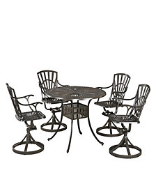 Modern Craftsman Distressed Oak Coffee Table