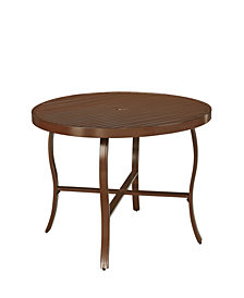 """Home Styles Key West Round Outdoor 48"""" Dining Table"""