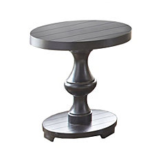 Dory Oval End Table, Quick Ship