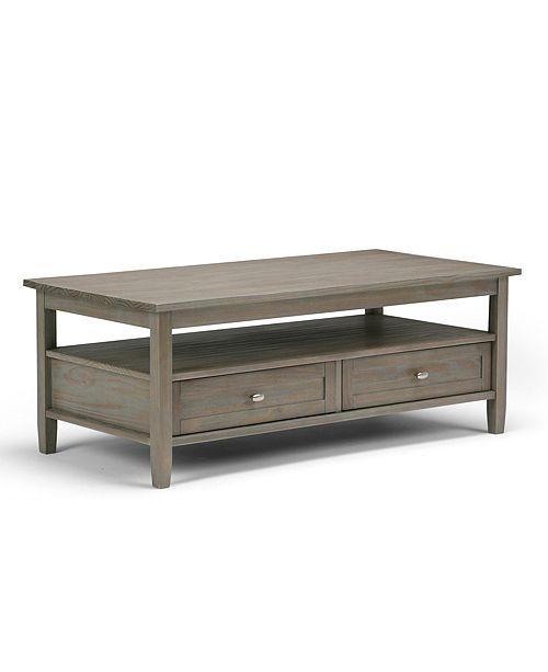 Simpli Home Burbank Coffee Table