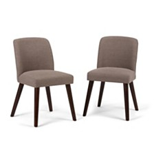 Set of 2 Emery Dining Chair, Quick Ship