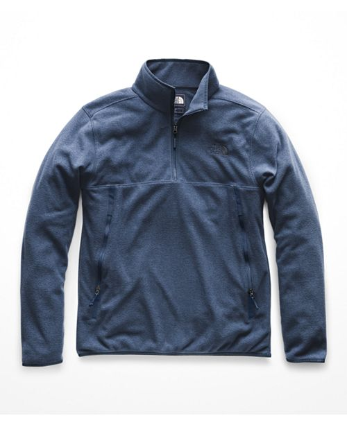 74e8ea559 The North Face Men's Glacier Alpine Quarter-Zip Fleece & Reviews ...